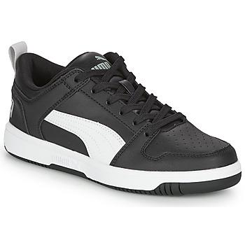 鞋子 男孩 球鞋基本款 Puma 彪马 REBOUND LAYUP N 黑色