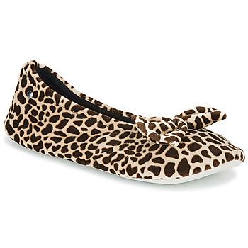 鞋子 女士 拖鞋 Isotoner 95991 棕色