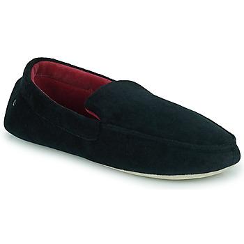 鞋子 男士 拖鞋 Isotoner 96774 黑色