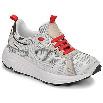 鞋子 男士 球鞋基本款 John Galliano 8516 灰色