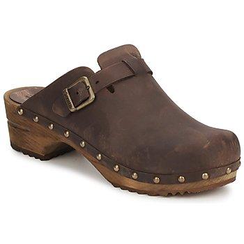 鞋子 女士 洞洞鞋/圆头拖鞋 Sanita KRISTEL OPEN 棕色