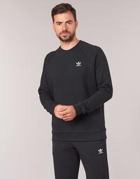 衣服 男士 衛衣 Adidas Originals 阿迪達斯三葉草 ESSENTIAL CREW 黑色