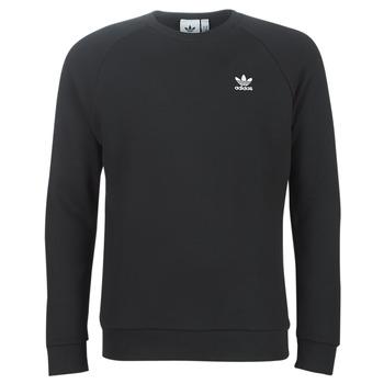 衣服 男士 卫衣 Adidas Originals 阿迪达斯三叶草 ESSENTIAL CREW 黑色