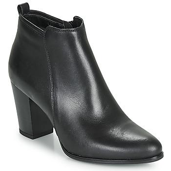 鞋子 女士 短筒靴 André MAGDA 黑色
