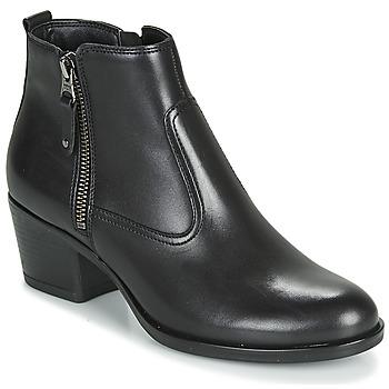 鞋子 女士 短筒靴 André MADRID 黑色