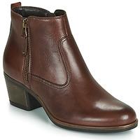 鞋子 女士 短筒靴 André MADRID 棕色
