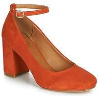 鞋子 女士 高跟鞋 André LAURIA 橙色