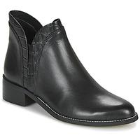 鞋子 女士 短筒靴 André NATHO 黑色