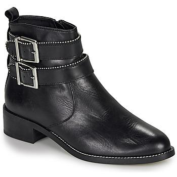 鞋子 女士 短筒靴 André LOTUS 黑色