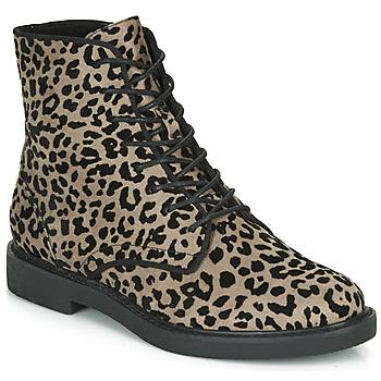 鞋子 女士 短筒靴 André NERON 灰色