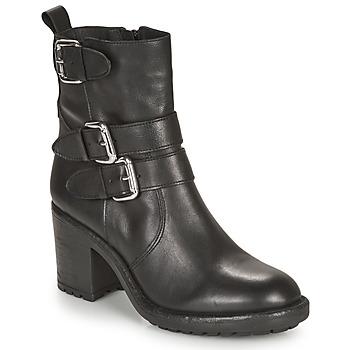 鞋子 女士 短筒靴 André NASHUA 黑色