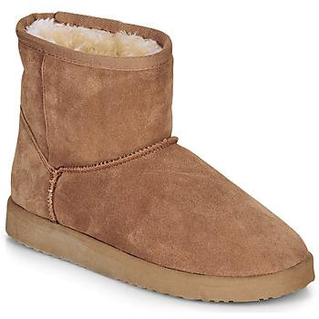 鞋子 女士 短筒靴 André TOUSNOW 驼色
