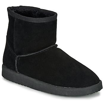 鞋子 女士 短筒靴 André TOUSNOW 黑色