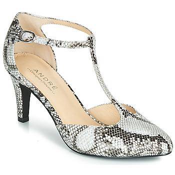 鞋子 女士 高跟鞋 André FALBALA 米色