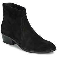 鞋子 女士 短筒靴 André ELEANA 黑色