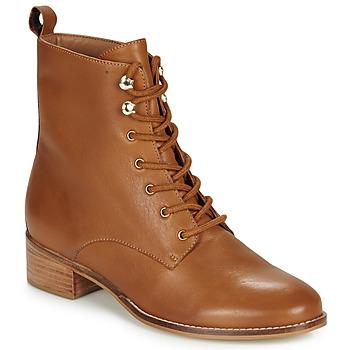 鞋子 女士 短筒靴 André ELOGE 驼色