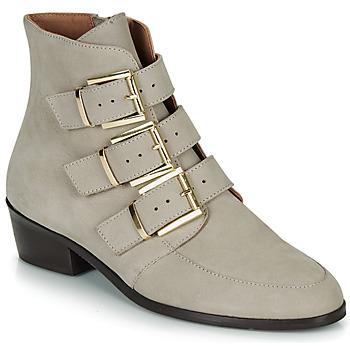 鞋子 女士 短筒靴 André ERNA 灰色