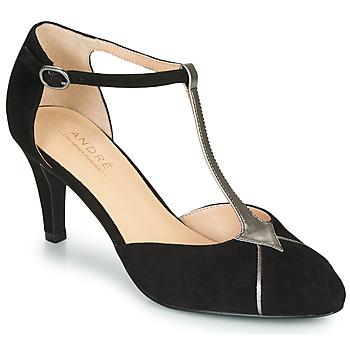 鞋子 女士 高跟鞋 André LOUCIANE 黑色