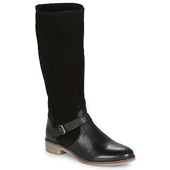 鞋子 女士 都市靴 André ELIA 黑色