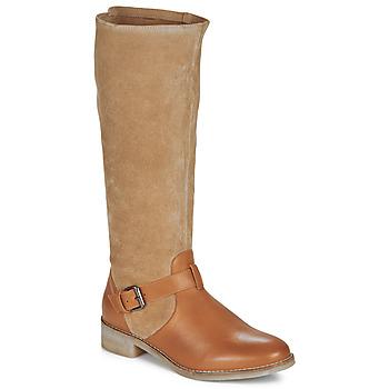 鞋子 女士 都市靴 André ELIA 驼色