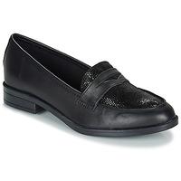 鞋子 女士 皮便鞋 André EMERAUDE 黑色