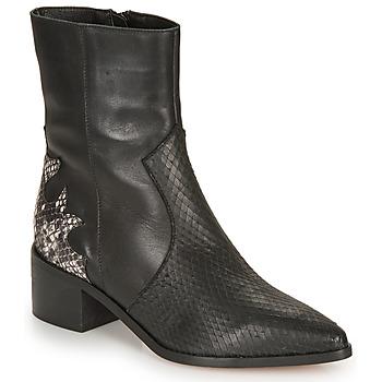 鞋子 女士 短靴 André LA ROCKABILLY 黑色