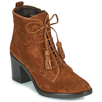 鞋子 女士 短靴 André MAGICIENNE 驼色