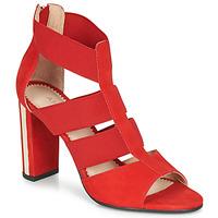 鞋子 女士 凉鞋 André LA DETERMINEE 红色