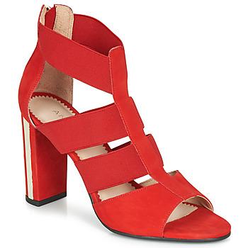 鞋子 女士 涼鞋 André LA DETERMINEE 紅色