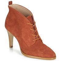 鞋子 女士 短靴 André LITCHI 橙色
