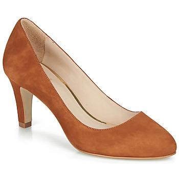 鞋子 女士 高跟鞋 André LINAS 驼色