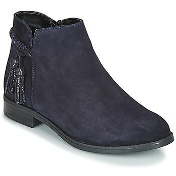 鞋子 女士 短筒靴 André MILOU 海蓝色