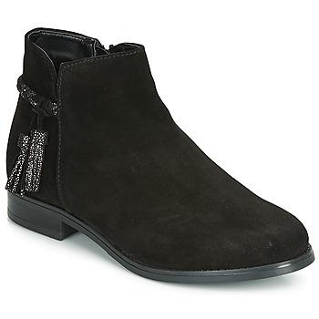 鞋子 女士 短筒靴 André MILOU 黑色