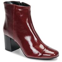 鞋子 女士 短靴 André LANA 红色