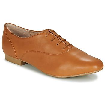 鞋子 女士 德比 André EXQUIS 驼色