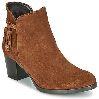 鞋子 女士 短靴 André MARYLOU 棕色