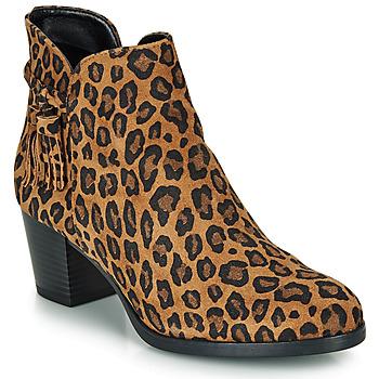 鞋子 女士 短靴 André MARYLOU Leopard
