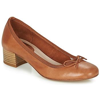鞋子 女士 平底鞋 André POEME 驼色