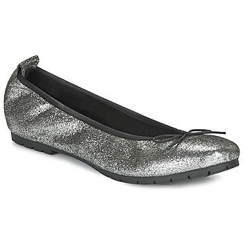 鞋子 女士 平底鞋 André NANA 银色