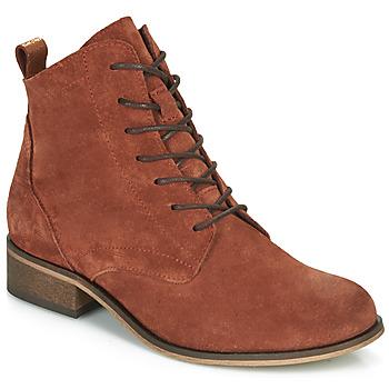 鞋子 女士 短筒靴 André GODILLOT 橙色