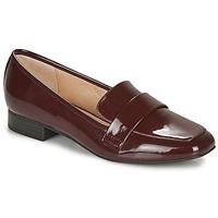鞋子 女士 皮便鞋 André LYS 红色