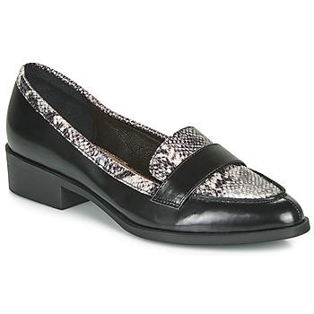 鞋子 女士 皮便鞋 André NOIX 黑色