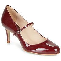 鞋子 女士 高跟鞋 André LUCIOLLE 波尔多红