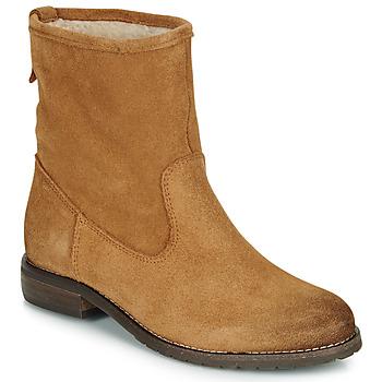 鞋子 女士 短筒靴 André ERIKA 驼色