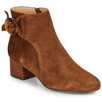鞋子 女士 短靴 André LOUISON 棕色
