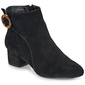 鞋子 女士 短靴 André LOUISON 黑色