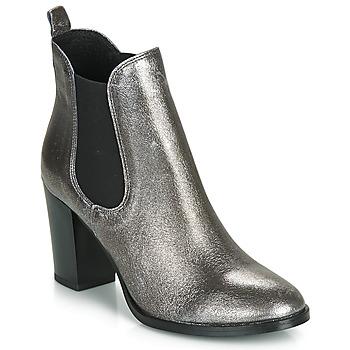 鞋子 女士 短靴 André CLAFOUTI 银色