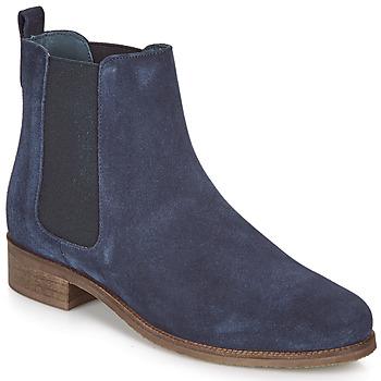 鞋子 女士 短筒靴 André CHATELAIN 海蓝色