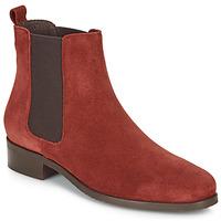 鞋子 女士 短筒靴 André CHATELAIN 红色