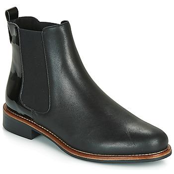 鞋子 女士 短筒靴 André LISSANDRO 黑色